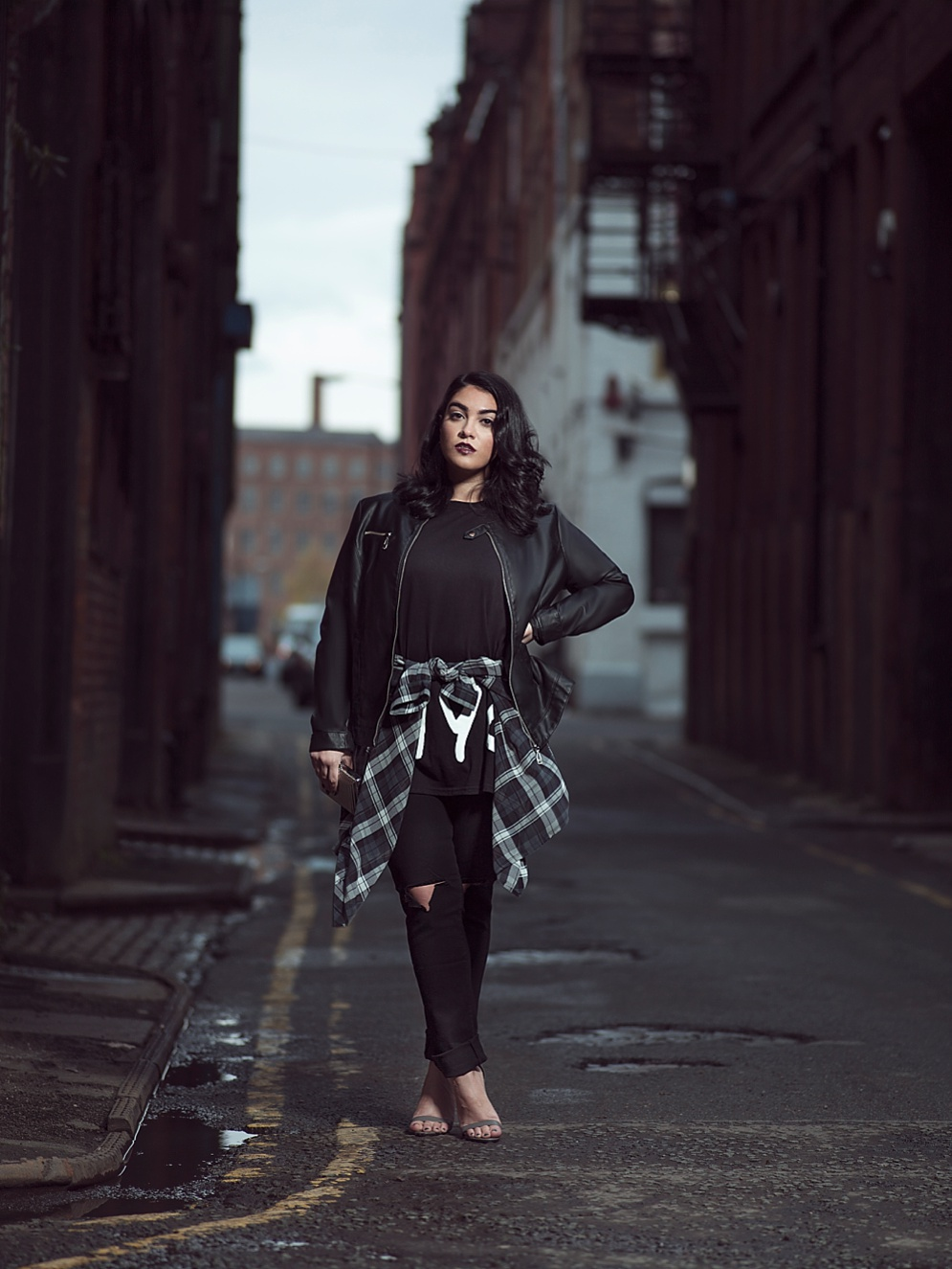 NADIA ABOULHOSN, Fashion Blogger, Matt Stansfield, fashion Photographer, New York, Manchester