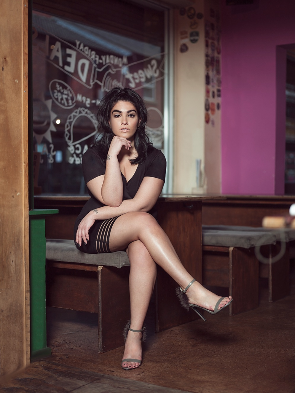 NADIA ABOULHOSN, Fashion Blogger, Matt Stansfield, fashion Photographer, New York, Manchester