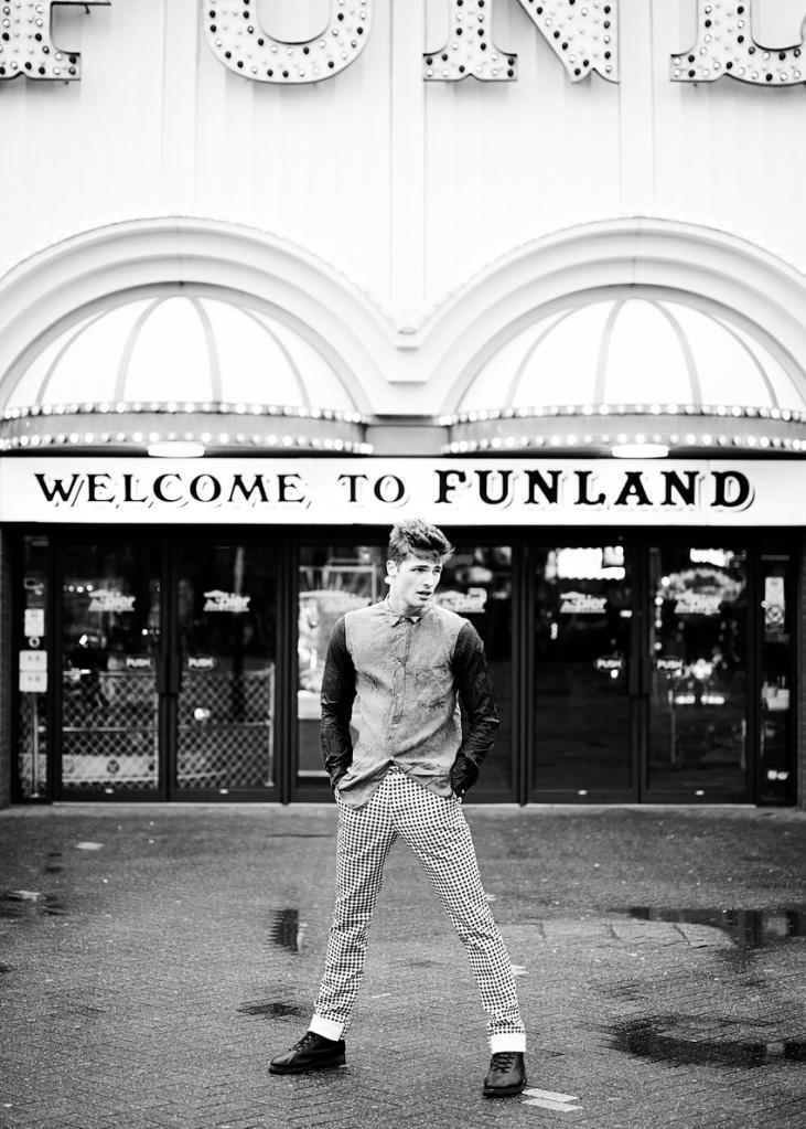 Mens fashion Edward Wilding shot by Matt Stansfield