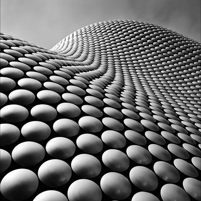 Bullring, Abstract, Personal Work, Matthew Stansfield, Architecture, mono, texture,